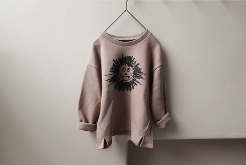 Lion long sleeve sweatshirt