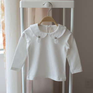Essential peter pan collar blouse