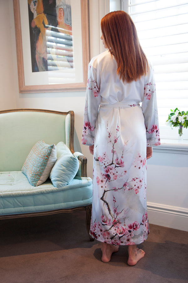Princess Madge - Individually chosen luxurious silk dressing gowns