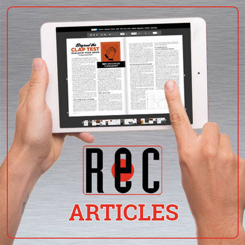 RECORDING Articles And Reviews
