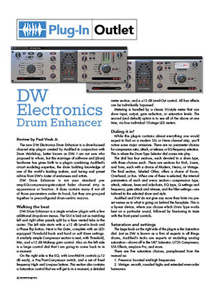 DW  Electronics Drum Enhancer