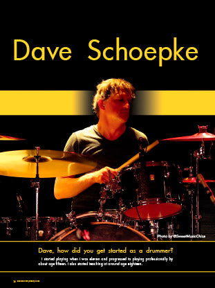 Dave Schoepke - Recording Drums On Low at Home