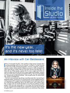 Inside the Studio with Mark Hornsby: An Interview with Carl Baldassarre
