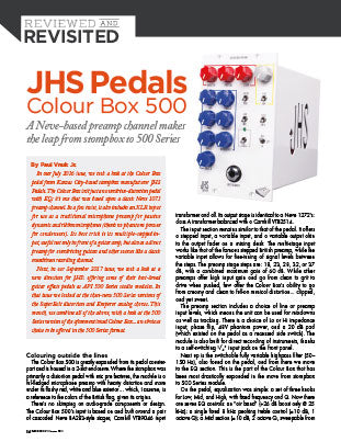 JHS Pedals: Colour Box 500