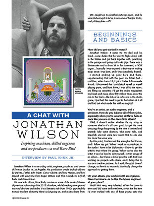 A Chat With Jonathan Wilson