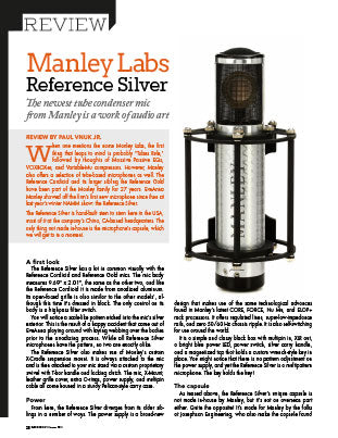 Manley Labs: Reference Silver