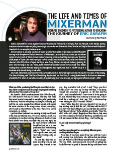 The Life And Times of Mixerman