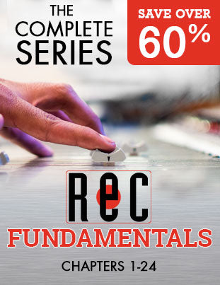 BUNDLE AND SAVE! Recording Fundamentals - The Complete Series