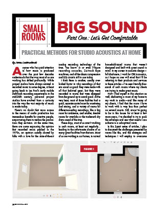 Small Rooms Big Sound - Part 1: Let's Get Comfortable
