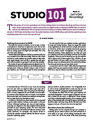 Studio 101 - Part 6: Instruments – Let's Get Recording!
