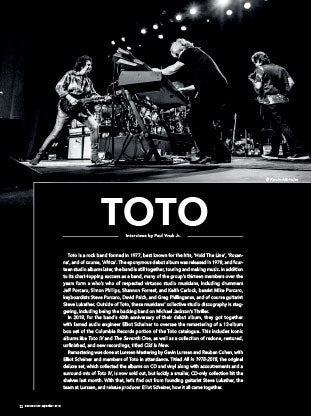 TOTO All In Box Set: Remastering and reliving this legendary audiophile catalog