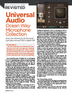 Universal Audio: Ocean Way Microphone Collection