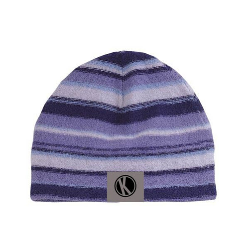Striped Wool Knitted Beanie - Konosh