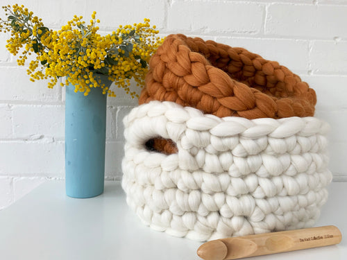 Extreme Crochet Basket DIY kit