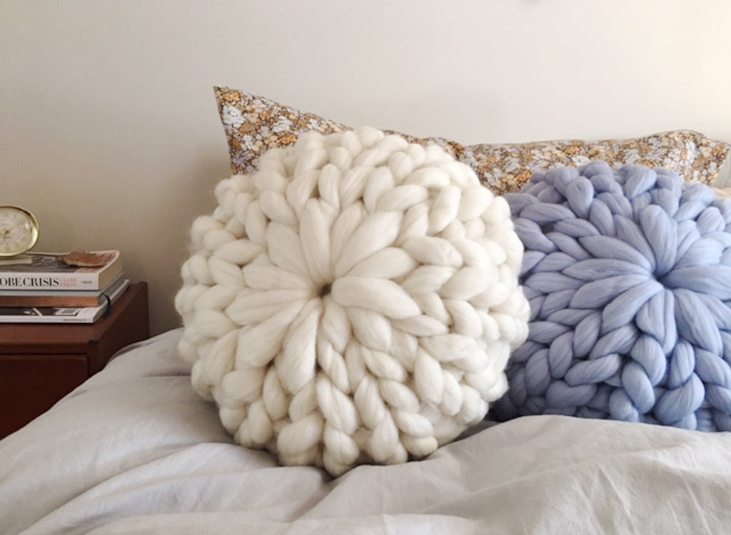 Chunky Knit cushion pattern