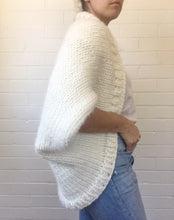 knitted blanket cardigan pattern