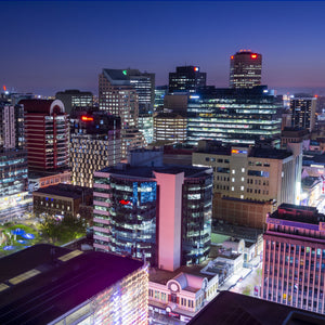 Adelaide skyline at night