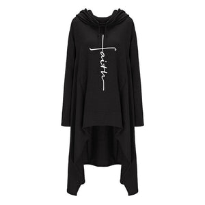 Faith Embroidered Hoodie