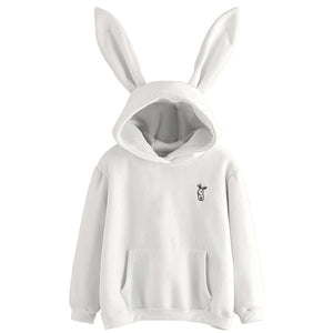 Hopeful Rabbit Hoodie