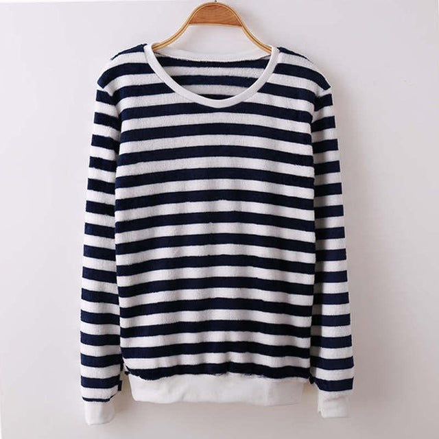Black Striped Wish Sweatshirt