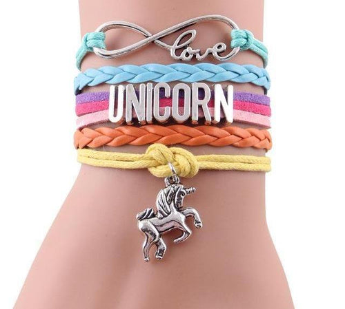 Unicorn Love Infinity Bracelet