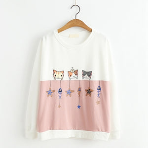 Kitty Star Sweatshirt