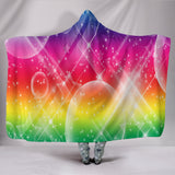 Multicolor Bubble Hooded Blanket - keewees3.com