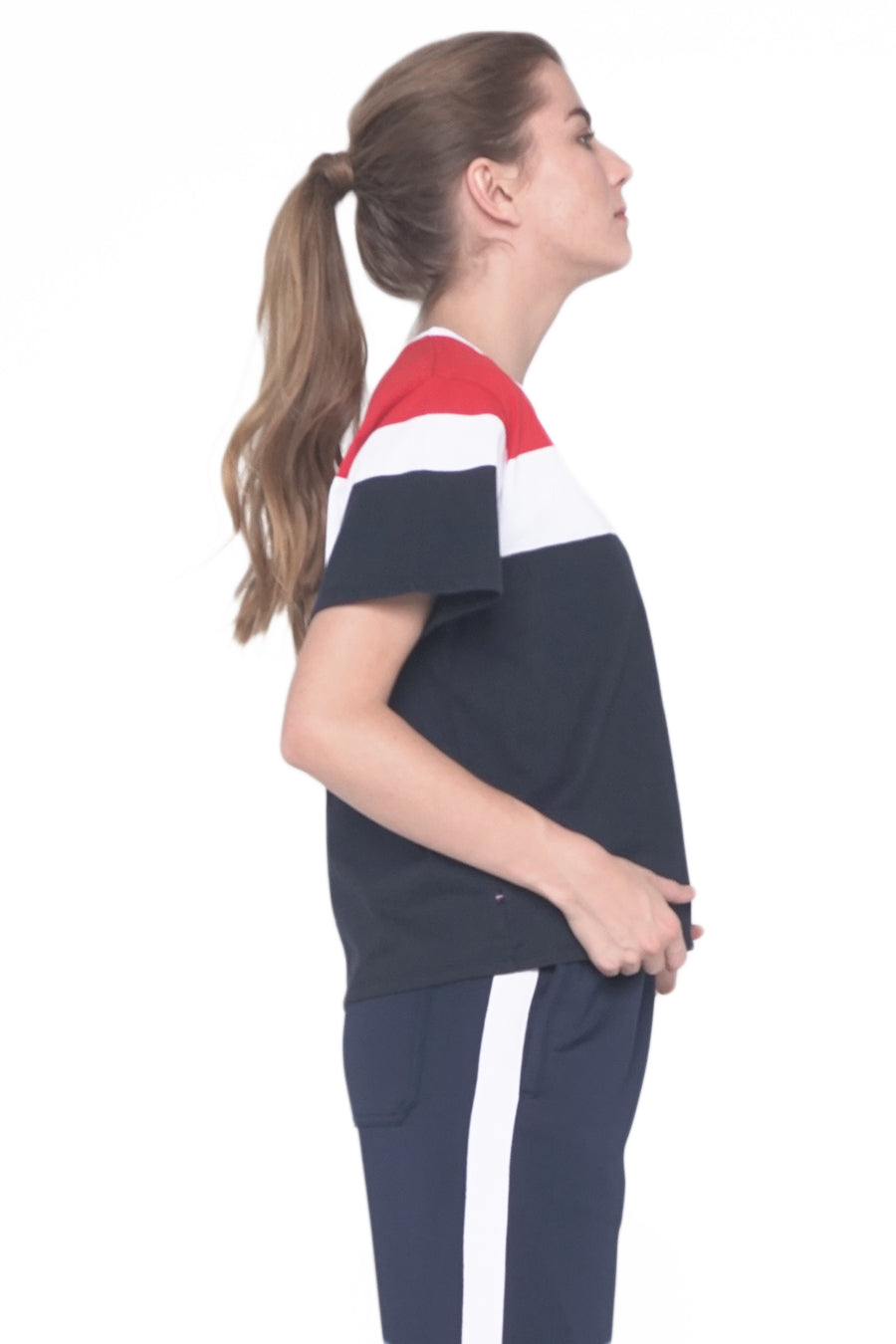 Regatta Sport Relaxed Fit Tee With Color Blocking