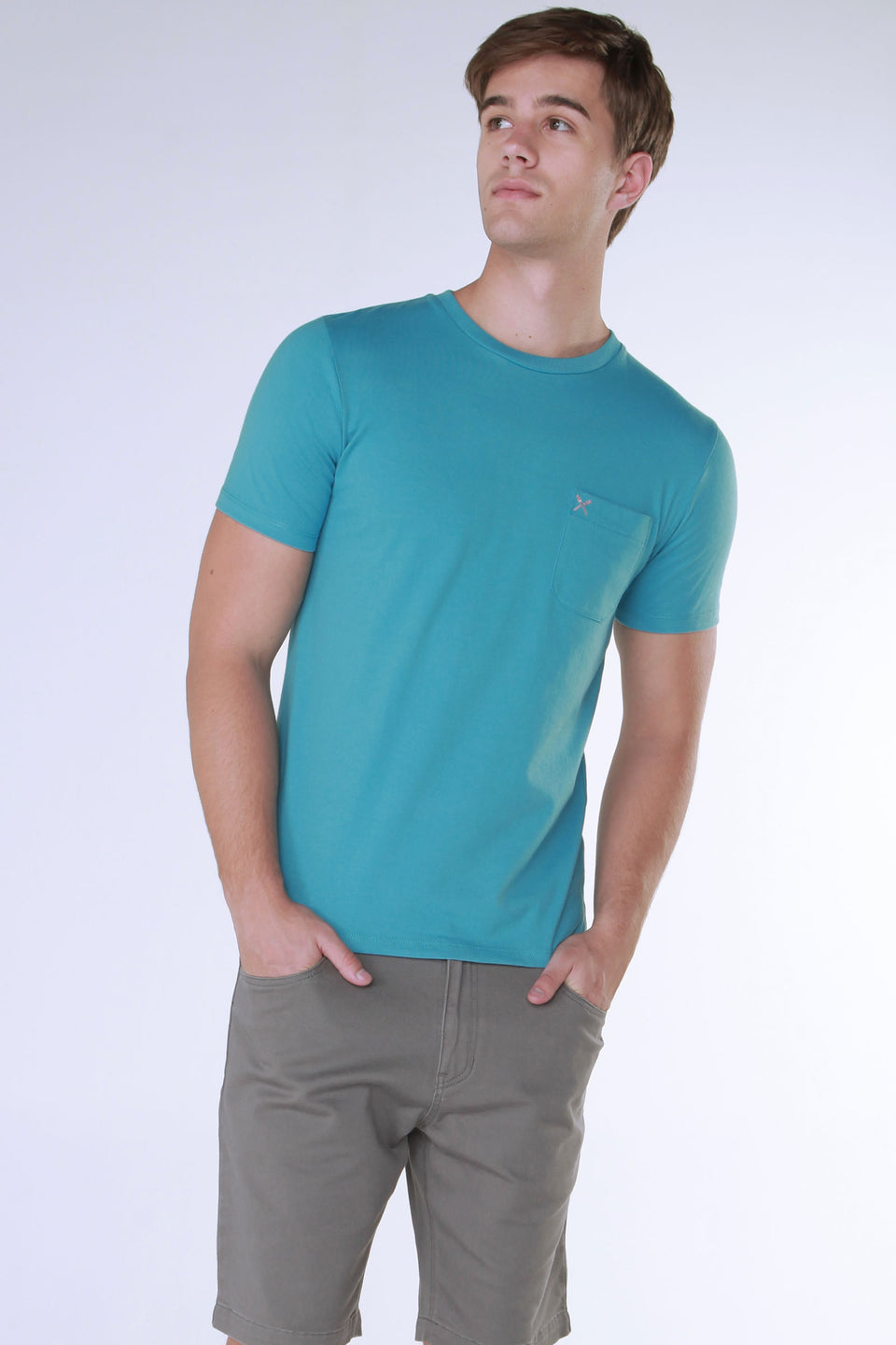 Relaxed Fit Tee With Pocket