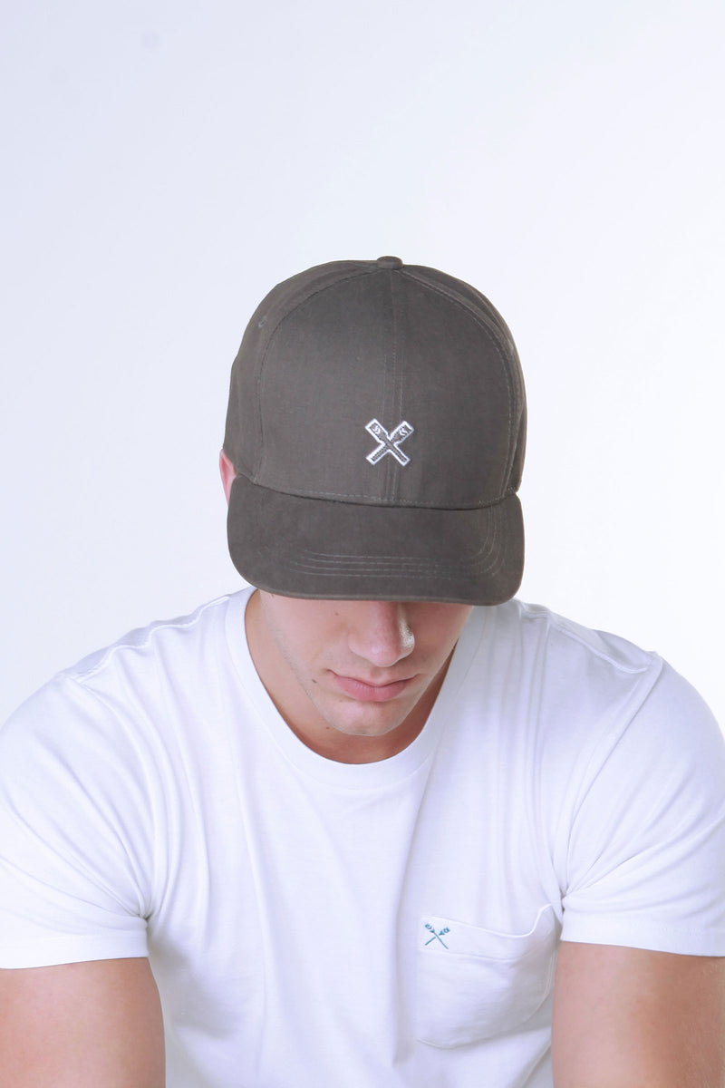 Twill Baseball Cap With Embroidery