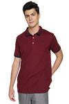Relaxed Fit Polo Shirt With Contrast Trim