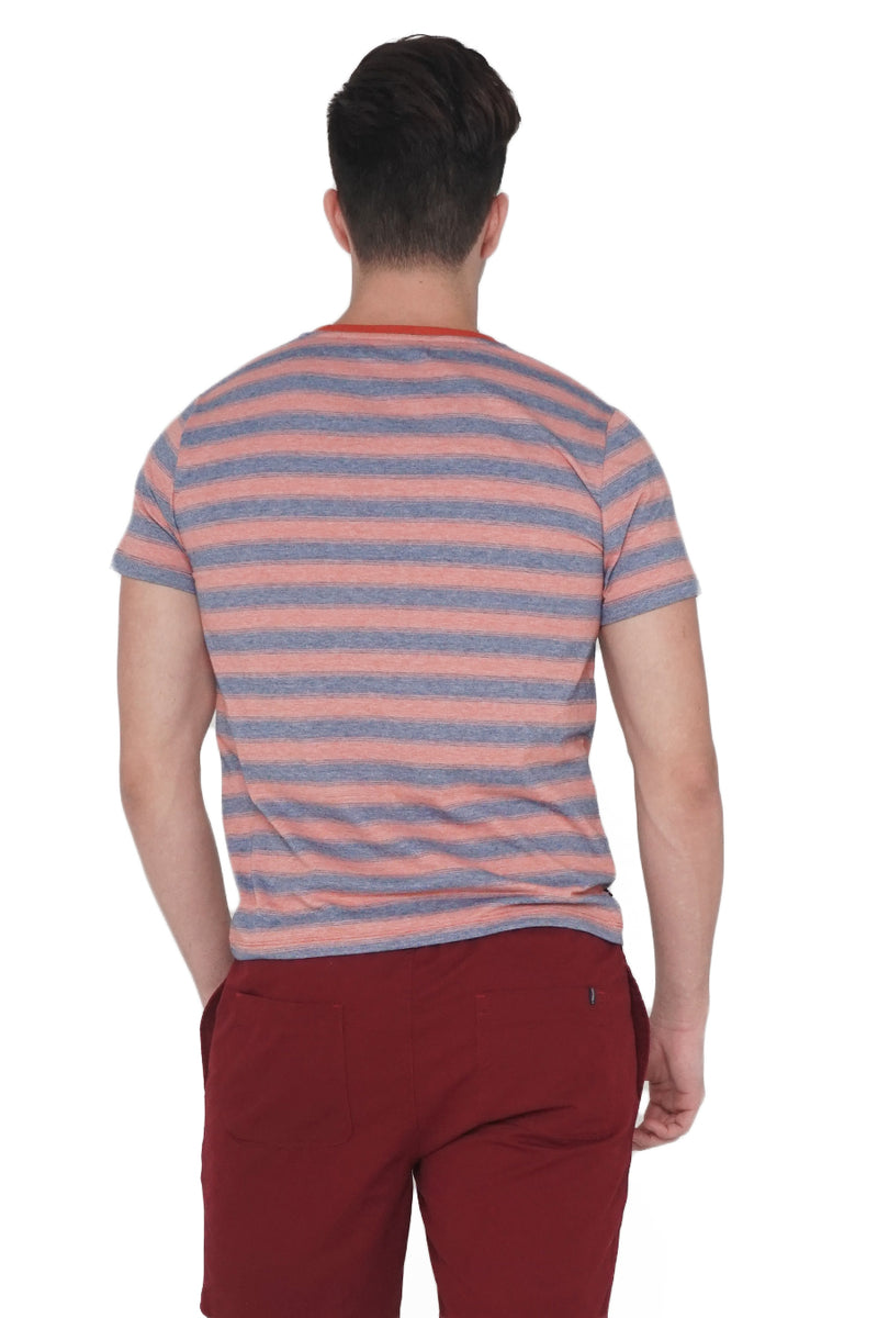 Relaxed Fit Striped Tee