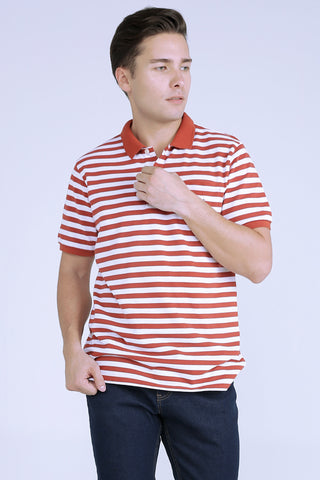 Fitted Polo Pique With Tipping