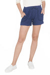 5-Pocket Shorts With Cuffed Hem