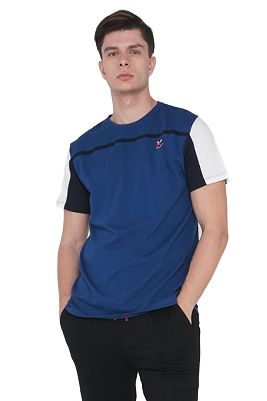 Regatta Sport Regular Fit Tee With Front Taping Accent