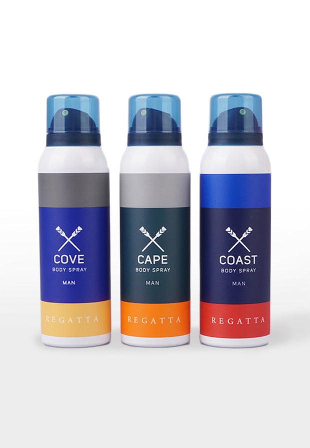 REGATTA COAST BODY SPRAY MAN