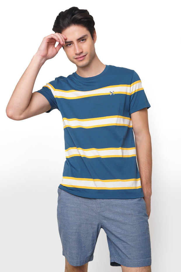 Tee in Stripes