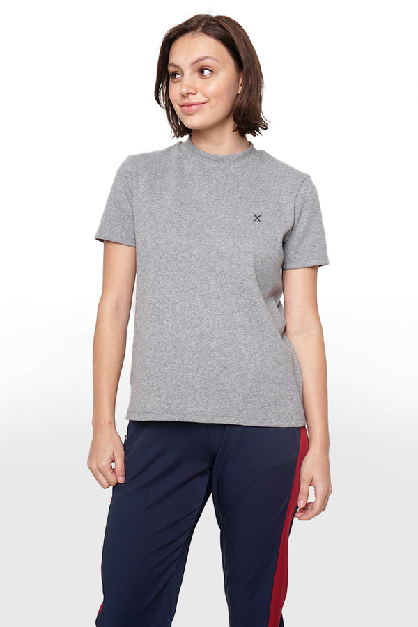 Tee With Zipper Detail