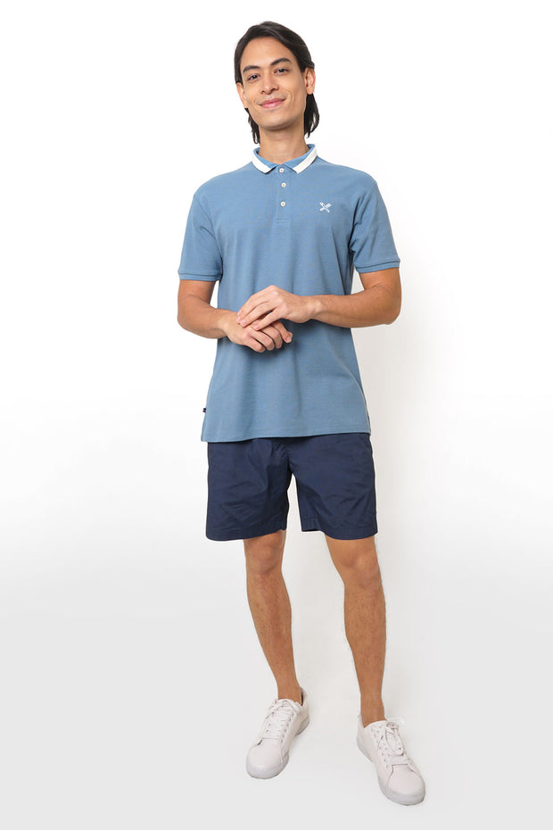 Regular Fit Polo With Contrast Collar Trim