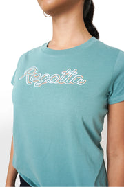 Regatta Logo Tee with Drawstring Bag Set