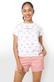 REGATTA Floral All-over Print Logo Tee Set