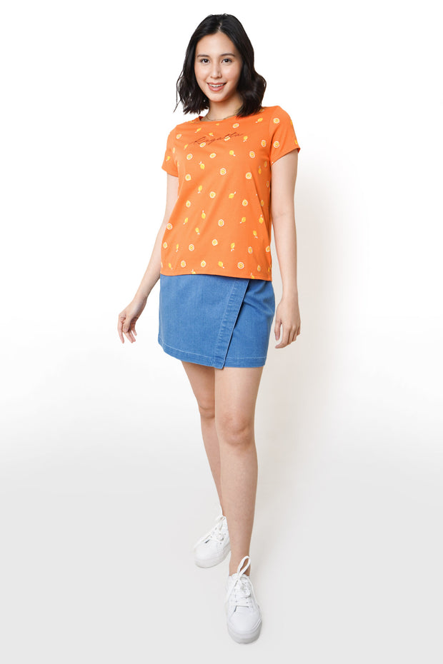 Regatta Logo All-Over Print Tee with  Drawstring Bag Set