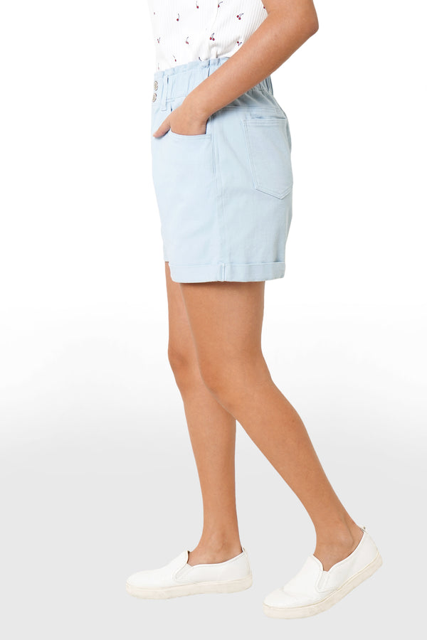 Shorts with Elastic Waistband