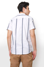 Textured Weave Shirt With Pocket