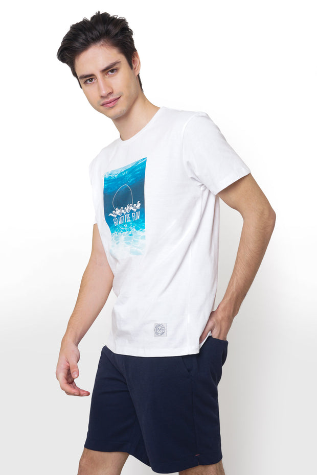 Tee with Photographic Print