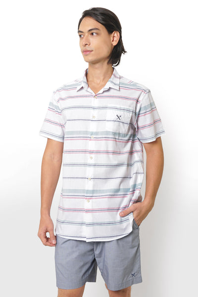 Poplin Shirt in Stripes