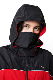 Nylon Jacket with Detachable Mask