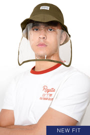 Bucket Hat With Removable Face Shield