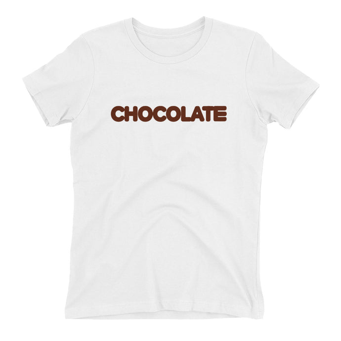 CHOCOLATE WOMENS TEE