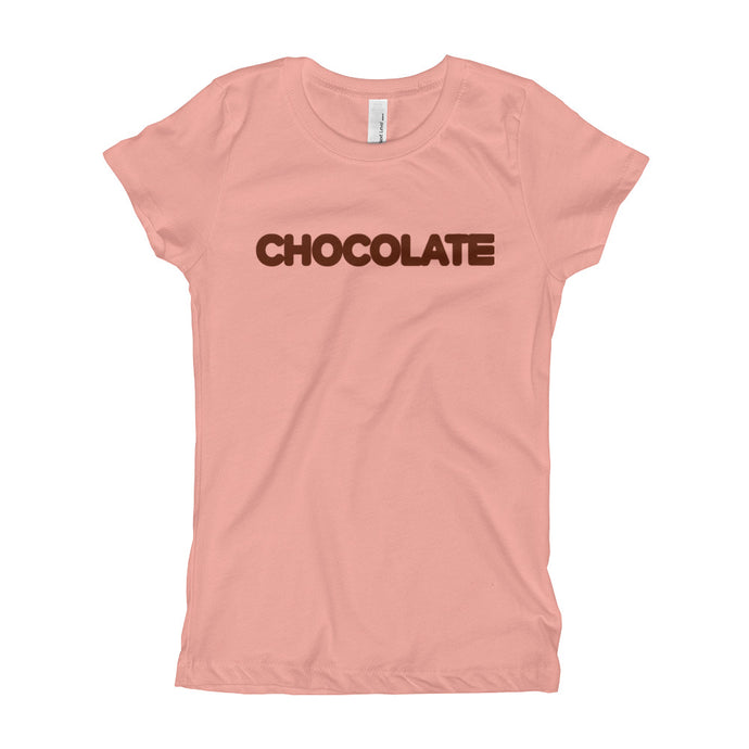GIRLS CHOCOLATE TEE